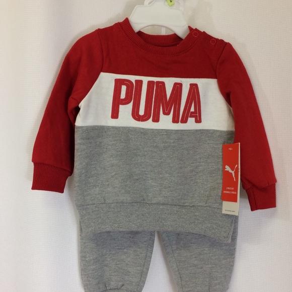 10ad7514f714 SALE Puma 2-piece set Kids Track suit size 3-6 NWT